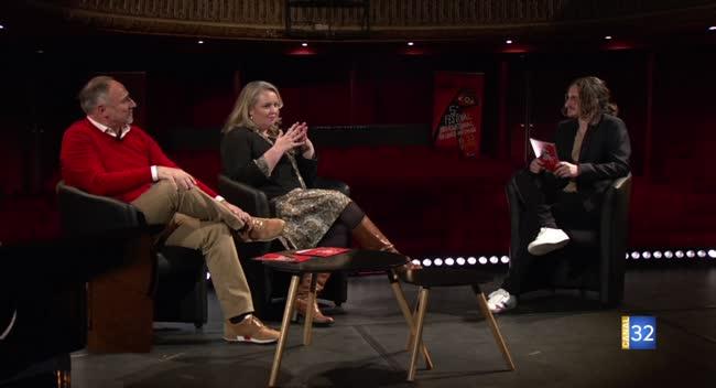 Canal 32 - Ils ont parlé cinéma - Anne-Claire et Laurent Vittenet