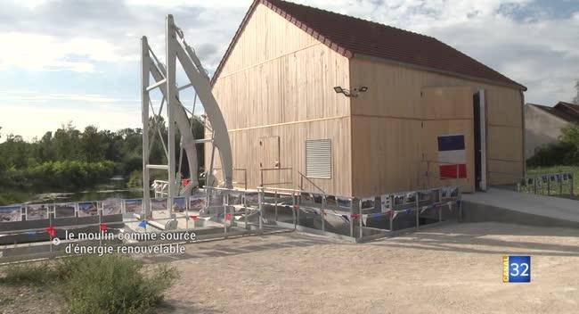 Canal 32 - Verrières : ils ont redonné vie à un moulin hydro-électrique