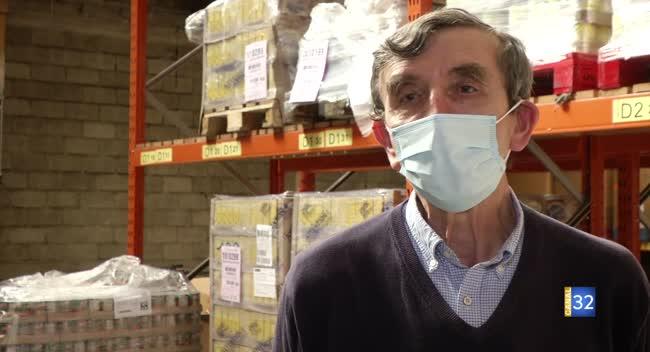 Canal 32 - Ils s'engagent pendant la crise sanitaire : Dominique, Banque alimentaire de l'Aube
