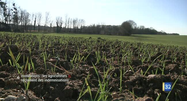 Canal 32 - Fontenay-de-Bossery : Inondations, les agriculteurs réclament des indemnisations