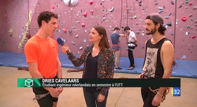 Canal 32 - Instant Etudiant : l'Erasmus Day à l'UTT !