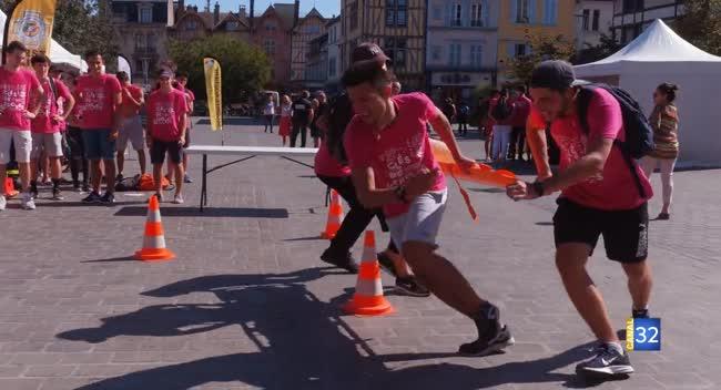 Canal 32 - Instant étudiant : retour sur le raid urbain (Clés de Troyes)