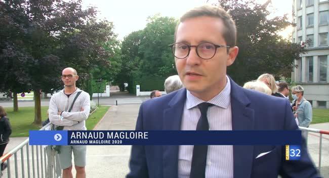 Canal 32 - Sainte-Savine : la réaction d'Arnaud Magloire, le nouveau maire de la commune