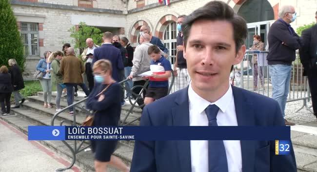 Canal 32 - Sainte-Savine : la réaction de Loïc Bossuat, arrivé 3e au second tour des municipales