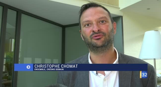 Canal 32 - La Rivière de Corps : la réaction de Christophe Chomat, nouveau maire de la commune