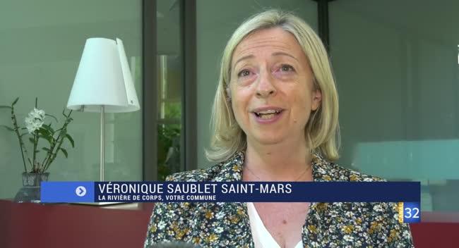 Canal 32 - La Rivière de Corps : la réaction de Véronique Saublet Saint-Mars, maire sortant battue au second tour