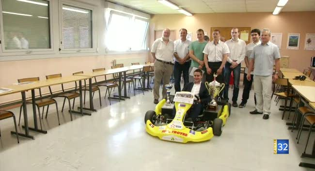 Canal 32 - IUT de Troyes : Champion de France de kart électrique !