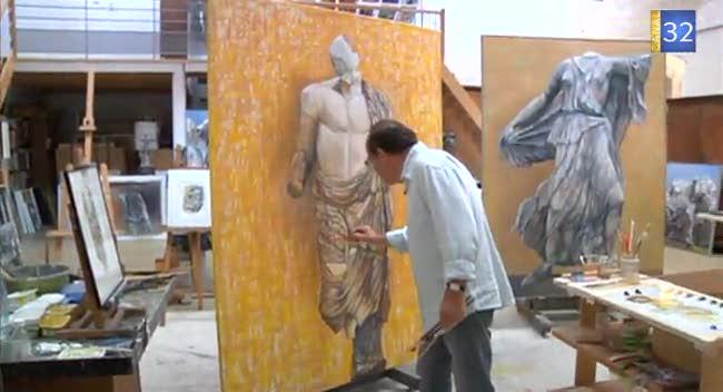 Canal 32 - Jean Kiras finalise sa série sur les sculptures grecques