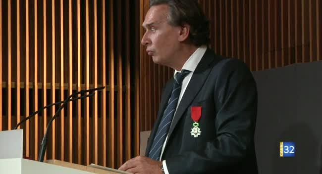 Canal 32 - Jean-Michel Soufflet chevalier de la Légion d'honneur
