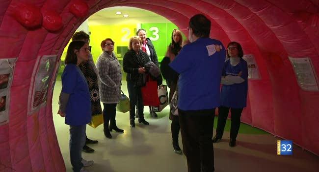 Canal 32 - Troyes : une journée de sensibilisation au dépistage du cancer colorectal
