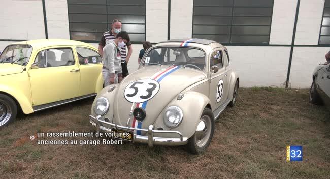 Canal 32 - Journées du Patrimoine : un rassemblement de voitures anciennes au garage Robert