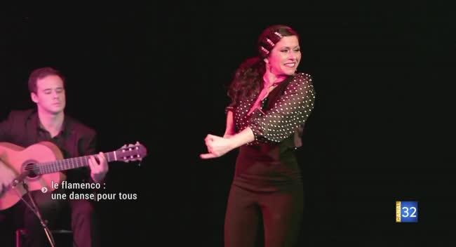Canal 32 - Katia Benito : le partage d'une passion pour le flamenco