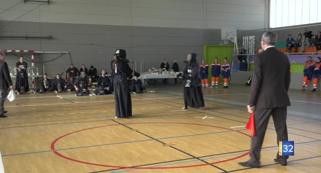 Canal 32 - Kendo : les Championnats Inter-régionaux à Troyes