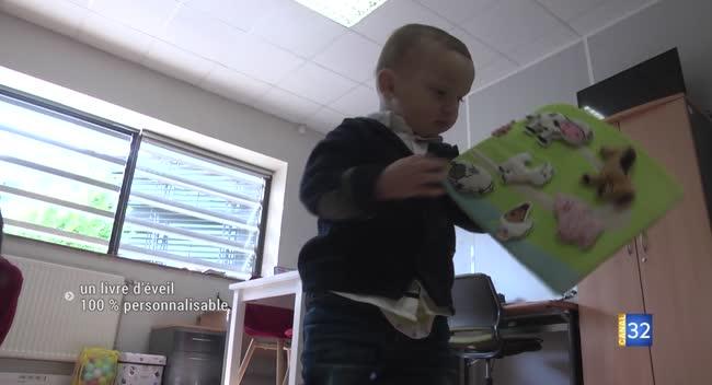 Canal 32 - Kitibook : un livre d'éveil personnalisable pour stimuler les enfants