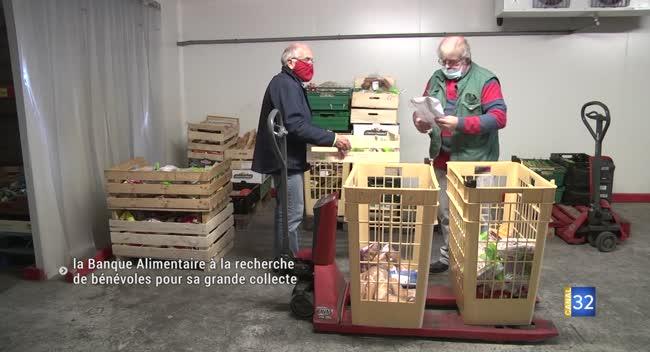 Canal 32 - La Banque Alimentaire recherche des bénévoles pour sa grande collecte