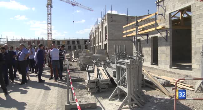 Canal 32 - La Chapelle Saint-Luc : 95 logements en construction