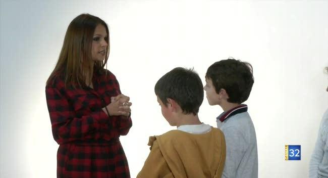 Canal 32 - La Chapelle Saint-Luc : Séverine Ferrer recherche de jeunes mannequins