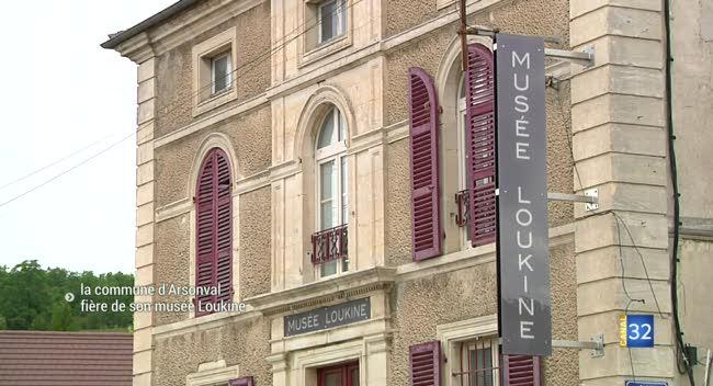 Canal 32 - La commune d'Arsonval fière de son musée Loukine