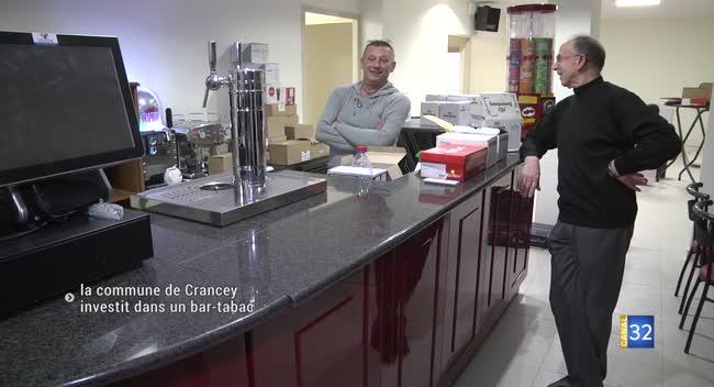 Canal 32 - La commune de Crancey investit dans un bar-tabac