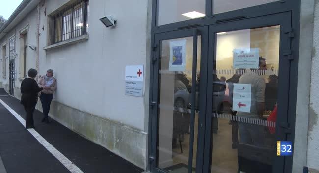 Canal 32 - Troyes : la Croix-Rouge inaugure son nouvel accueil de jour