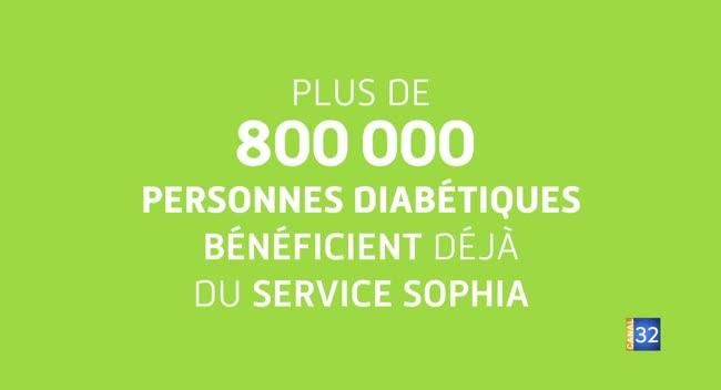 Canal 32 - La démarche qui va bien - le service Sophia diabète