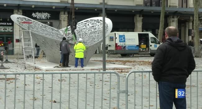 Canal 32 - Troyes : La Feuille, touche finale de l'aménagement de la place des Halles - Canal 32