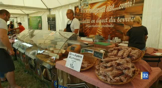 Canal 32 - Bar-sur-Aube : la Foire aux fromages et saveurs des terroirs