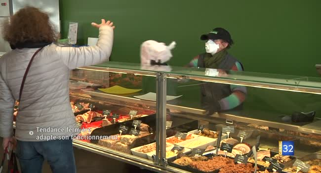 Canal 32 - Covid-19 : le magasin de producteurs Tendance fermière lance un service de commande