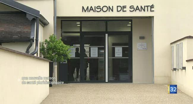 Canal 32 - La maison de santé de Bar-sur-Aube inaugurée