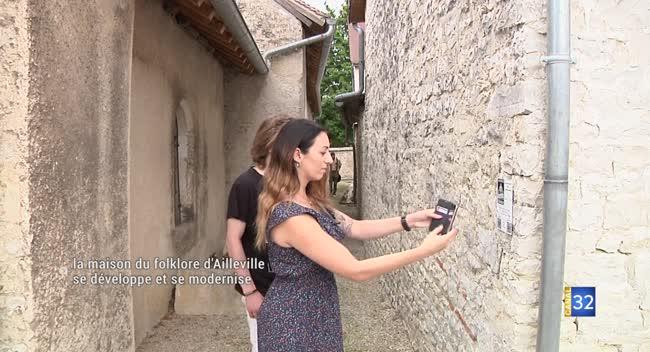 Canal 32 - Ailleville : la Maison du Folklore de Champagne développe un jeu interactif