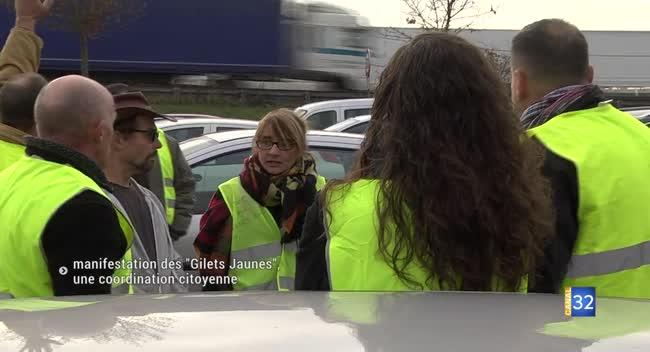 Canal 32 - La manifestation des Gilets Jaunes s'organise entre citoyens