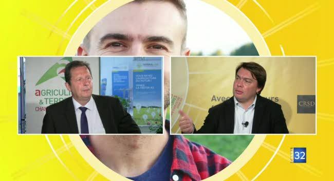 Canal 32 - La méthanisation, filière d'avenir pour l'agriculture