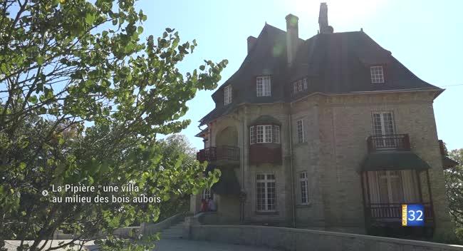 Canal 32 - La Pipière : une villa de bord de mer au milieu des bois