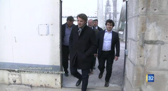 Canal 32 - La présidentielle s'invite à la maison centrale de Clairvaux