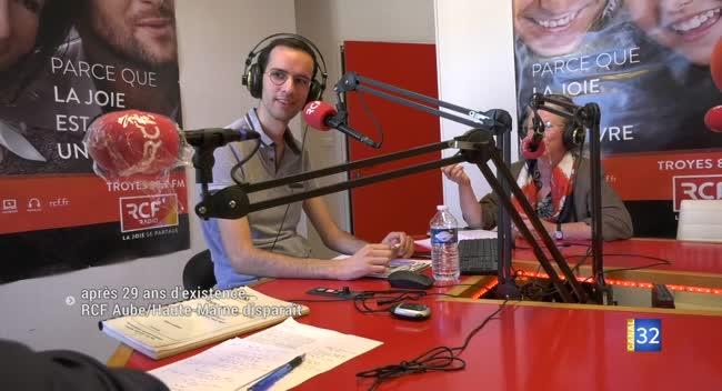 Canal 32 - La radio RCF Aube/Haute-Marne cessera d'émettre le 1er juin