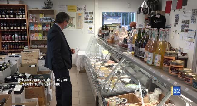 Canal 32 - La Région Grand Est veut faire connaître ses fromages