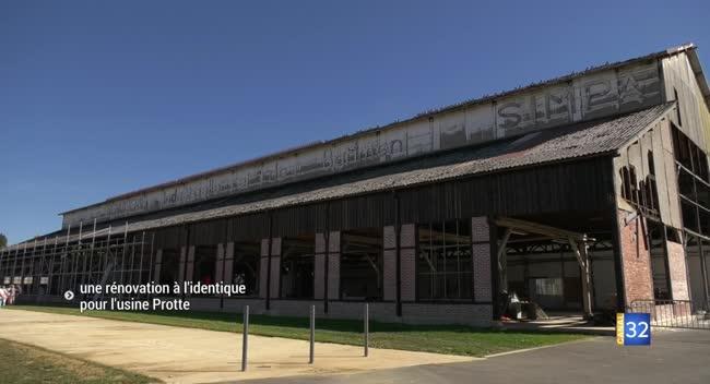 Canal 32 - Vendeuvre-sur-Barse : la rénovation de l'usine Protte ravive des souvenirs