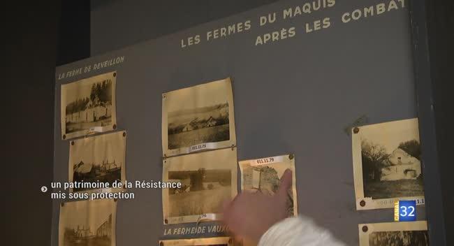 Canal 32 - La rénovation du musée de la Résistance débute par la restauration des collections