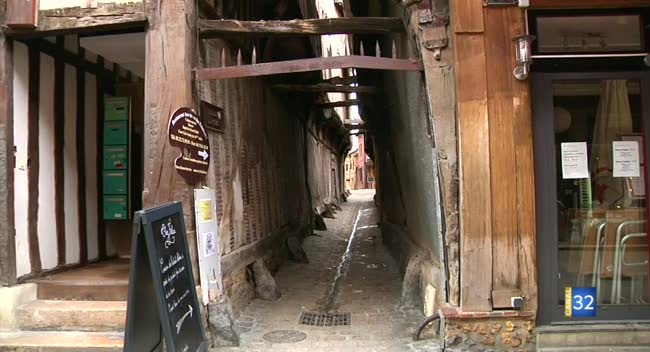 troyes ruelles des chats - Image