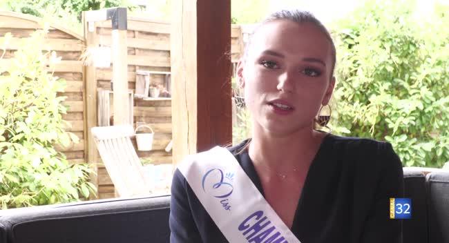 Canal 32 - La Savinienne Gwenegann Saillard représente la Champagne-Ardenne au concours Miss France