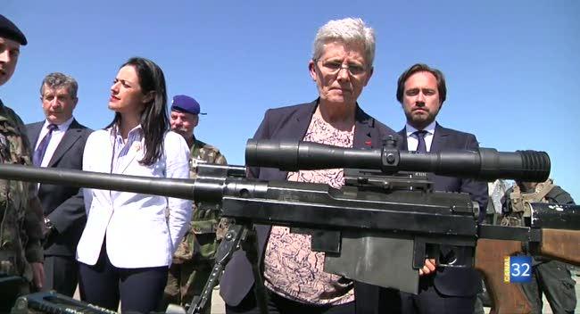 Canal 32 - La secrétaire d'État auprès de la ministre des Armées dans l'Aube