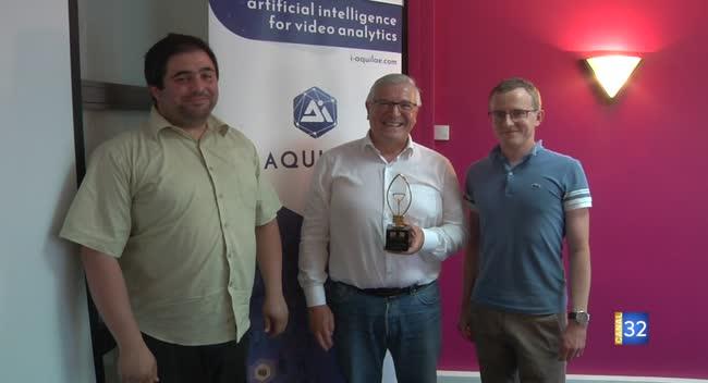 Canal 32 - La société auboise Aquilae récompensée au concours national d'innovation i-Lab
