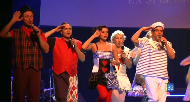 Canal 32 - La troupe Mill'Accords se donne en spectacle !