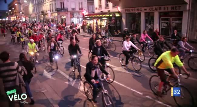 Canal 32 - Troyes : la ville reconduit ses randonnées nocturnes à vélo