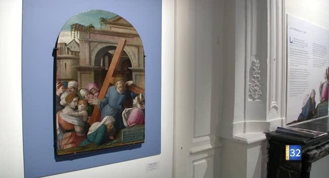 Canal 32 - La Ville présente sa dernière acquisition du peintre Grégoire Guérard