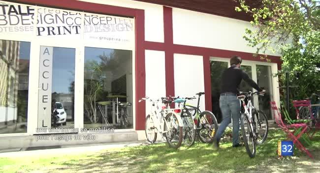 Canal 32 - L'agence Zetruc se mobilise pour utiliser le vélo au quotidien