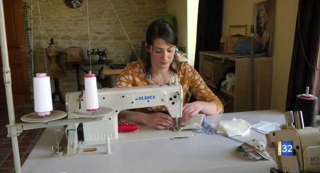 Canal 32 - Lagesse : des masques made in Aube comme geste solidaire