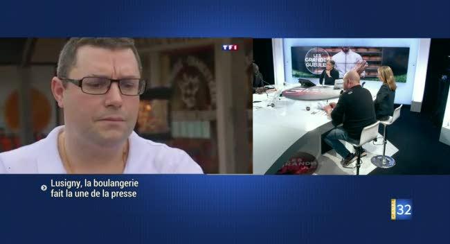 Canal 32 - Lusigny-sur-Barse : l'amende pour travail 7j/7 suscite l'intérêt des médias