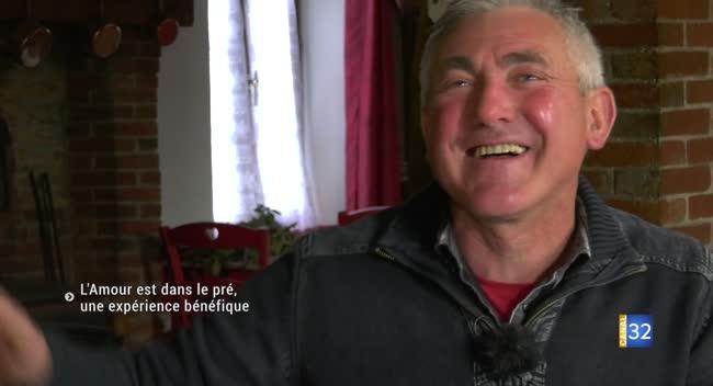 Canal 32 - L'Amour est dans le pré, une expérience bénéfique pour le candidat aubois
