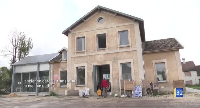 Canal 32 - Polisot : l'ancienne gare se transforme en espace culturel